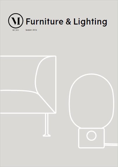 Menu Furniture & Lighting Catalog Cover